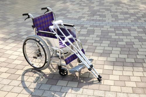 Berle a invalidní vozík/ilustrační foto