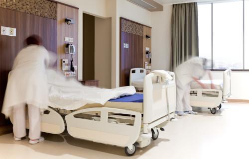 Nemocniční pokoj/ilustrační foto