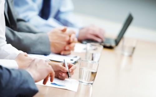 Schůze/ilustrační foto