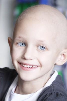 Dívka s leukémií/ilustrační foto