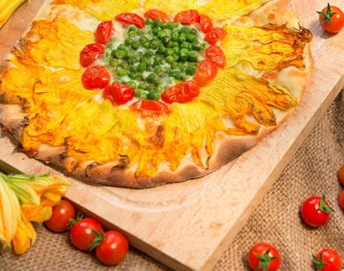 Veganská pizza/ilustrační foto