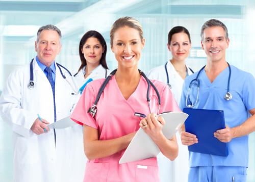 Skupina zdravotníků/ilustrační foto