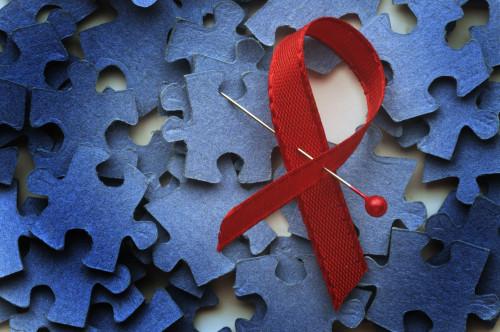 Symbol HIV/AIDS/ilustrační foto