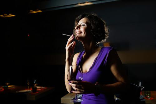 Kouření v baru/ilustrační foto