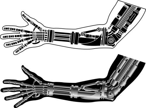 Bionická ruka/ilustrační foto