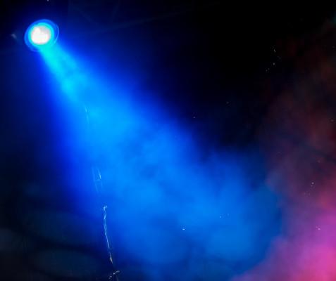 Modré světlo/ilustrační foto
