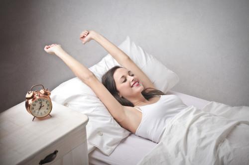 Ranní probuzení/ilustrační foto