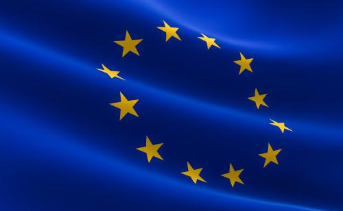 Vlajka EU/ilustrační foto