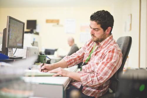Práce v kanceláři/ilustrační foto