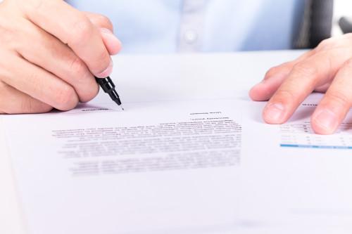 Podpis smlouvy/ilustrační foto