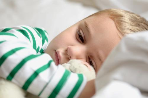 Nemocné dítě/ilustrační foto