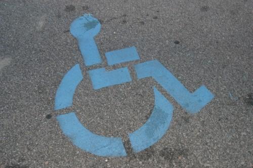 Symbol invalidé/ilustrační foto