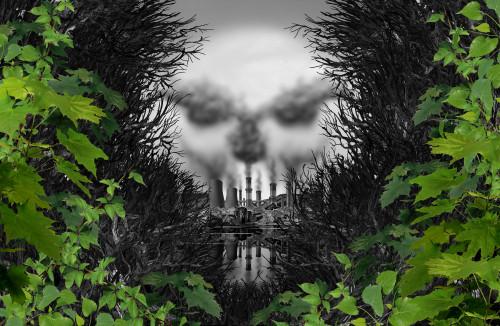 Znečištěný vzduch/ilustrační foto