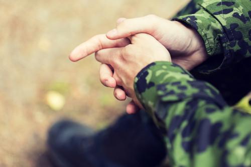 Voják/ilustrační foto