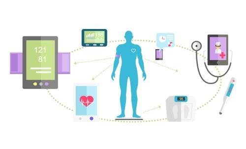 Lékař na telefonu/ilustrační obrázek